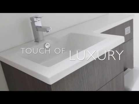 Aquatrend Petite Designer Bathroom Furniture - Designer Bathroom Concepts
