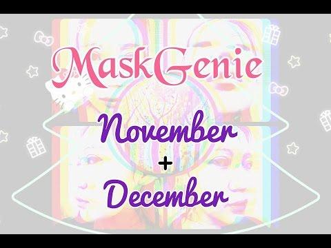 UNPOUCHING MaskGenie November + December Pouch