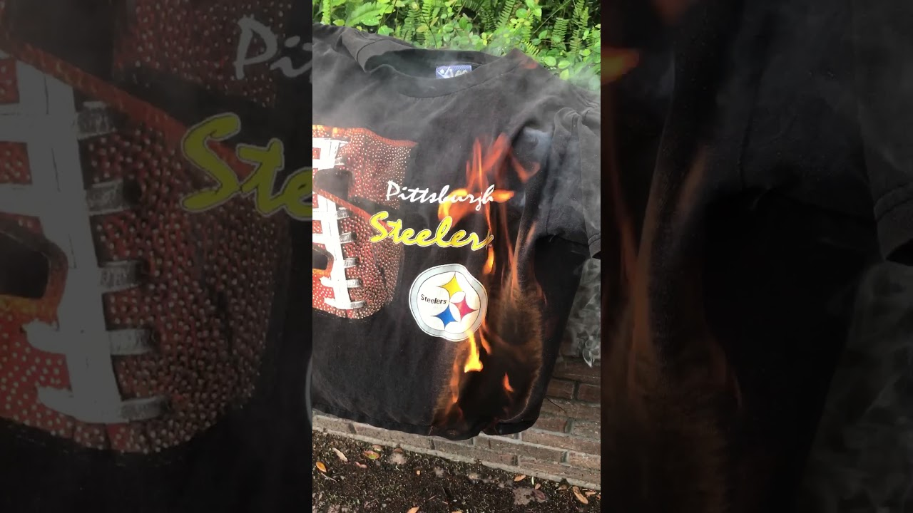 7964fa09dbd Angry Pittsburgh Steelers Fans Burn Gear Over National Anthem Protest – CBS  Pittsburgh