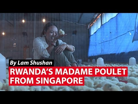 "Rwanda's ""Madame Poulet"" From Singapore | CNA Insider"