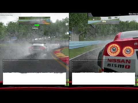 Project CARS 2 - Enhanced graphics vs. Resolution (XB1X)