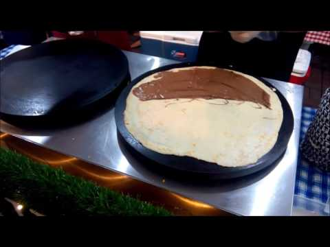 Parlade Creperie: Nutella and banana crepe