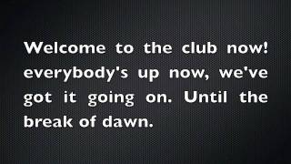 Manian - Welcome To The Club (HD With Lyrics)