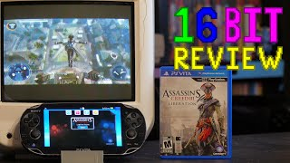 Assassins Creed III Liberation Review - 16 Bit Game Review