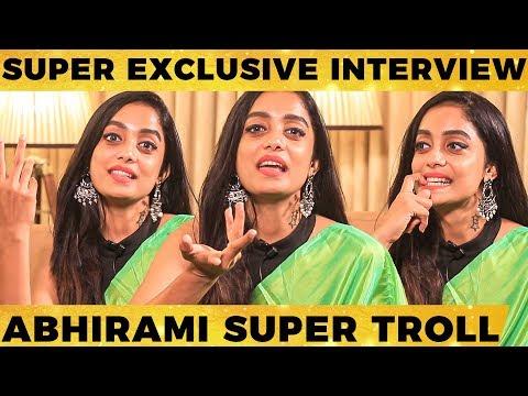 நண்பன் நாலே முதுகுல தான் குத்துறாங்க - Abhirami Venkatachalam Mass Interview | KHS