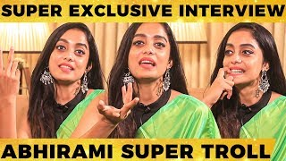 Bigg Boss Abhirami Interview | Abhirami Venkatachalam Mass Interview