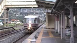 485系 ゆう 敷島駅通過