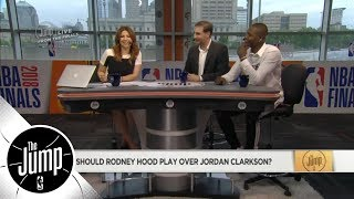 Rodney Hood vs. Jordan Clarkson: Who should play for Cavaliers in Game 3? | The Jump | ESPN