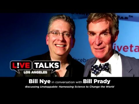 Bill Nye in conversation with Bill Prady on Climate Change