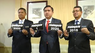 MOT to launch 'Malaysia' car plate series, expects to raise RM22mil