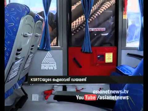 Karnataka KSRTC's new 'Airavat Diamond class' buses from Scania