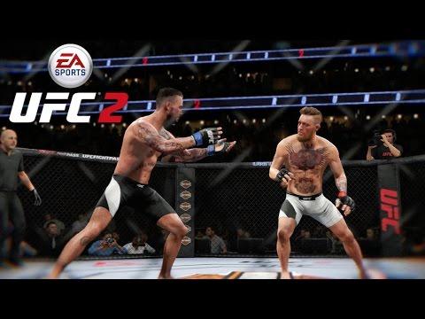 EA UFC 2 (Xbox One) Conor McGregor Vs CM Punk - Full Fight (3 Rounds)
