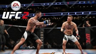 EA UFC 2 (Xbox One) Conor McGregor vs CM Punk - Full Fight (3 Rounds)