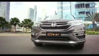 Honda All New CRV Indonesia Facelift 2015