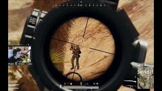 突击手shroud的最强狙击模式,Mini+98K一路过关斩将16杀吃鸡!