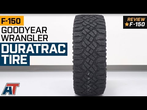 """1997-2019 F150 Goodyear Wrangler DuraTrac Tire (31-35"""") Review"""