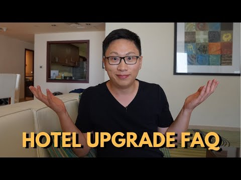 Hotel Upgrades Via Credit Cards FAQ