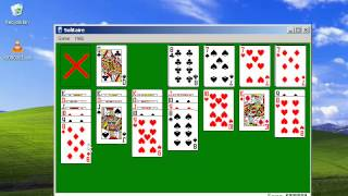 Windows XP Solitaire - one million points