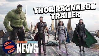 Thor: Ragnarok Comic Con Trailer Breakdown! - SDCC 2017