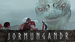 God of War - The Story of the World Serpent // All Jormungandr Scenes