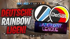 DEUTSCHE RAINBOW ESPORT LIGEN & CUPS ERKLÄRT! Rainbow Six Siege