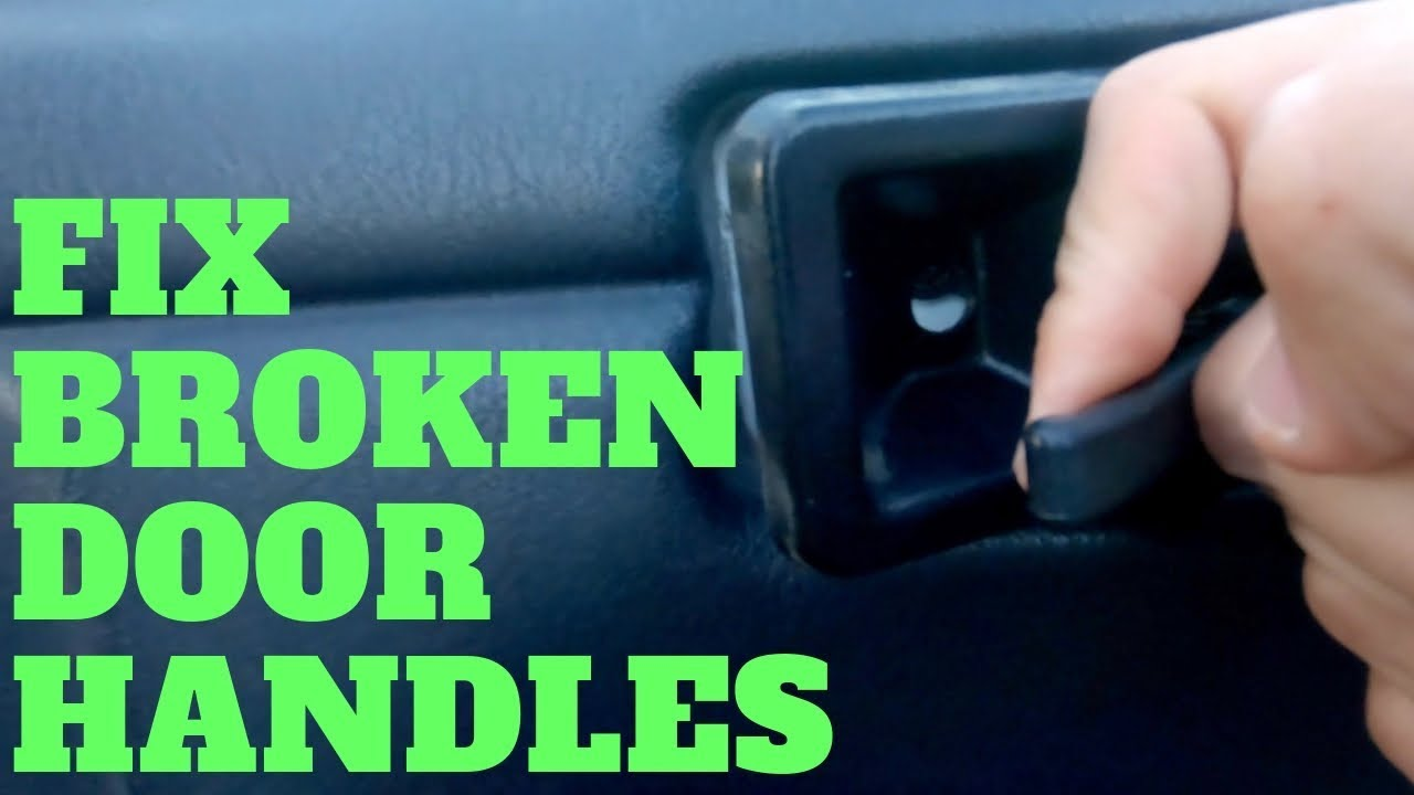 How To Replace Broken Jeep Door Handles Youtube