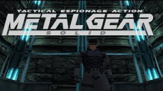 Metal Gear Solid Walkthrough Part 8 - Psycho Mantis (HD)