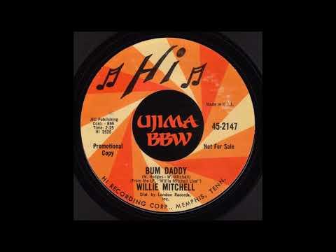 WILLIE MITCHELLBum DaddyHI RECORDS1968