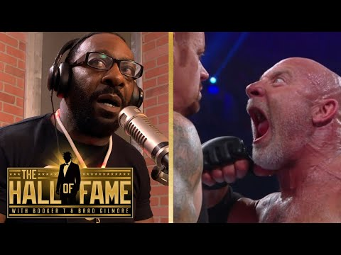 Goldberg Speaks with Booker T on His Match with The Undertaker in Saudi Arabia