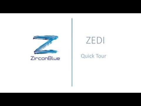 Quick tour of ZEDI