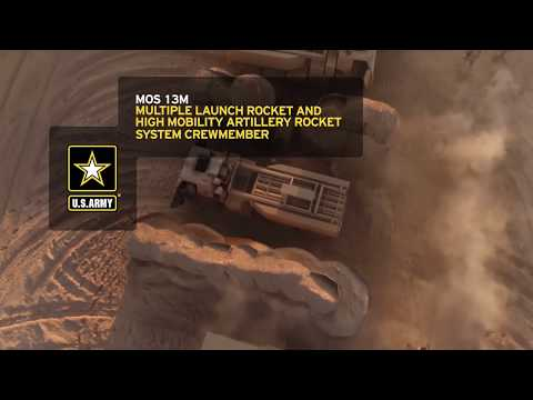 MOS 13M Multiple Launch Rocket And High Mobility Artillery Rocket System Crewmember