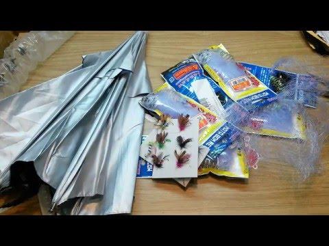 распаковка посылок от алиэкспресс рыбалка