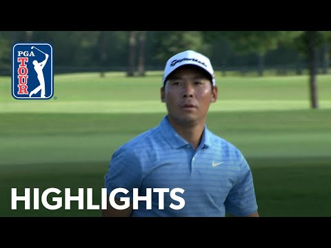 Xinjun Zhang's Highlights | Round 1 | Houston Open 2019