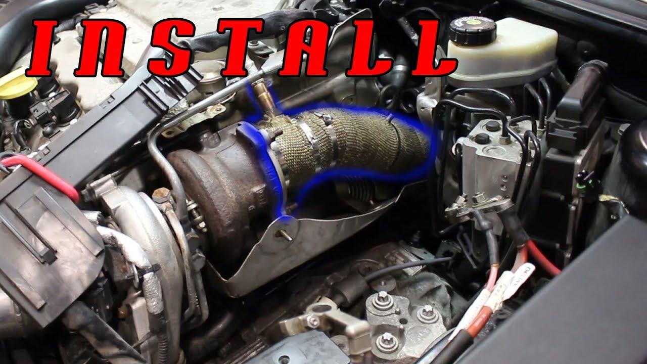 Saab V6 Downpipe Full Install