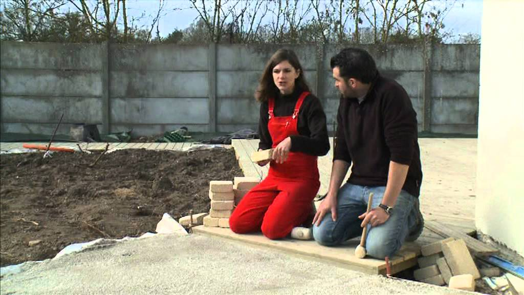 Dalle Beton Terrasse Youtube Pavés Autobloquant - Youtube