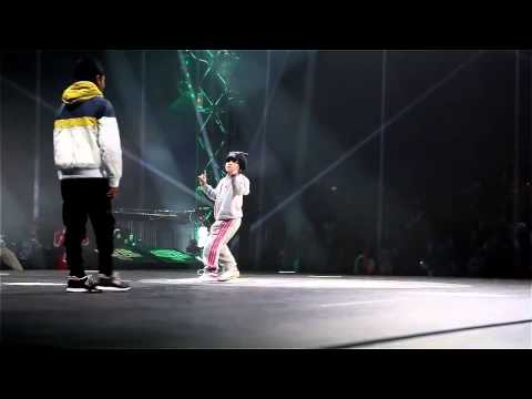 Six-year-old b-girl destroys the dance floor (HD)