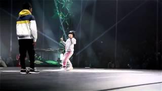 Six-year-old b-girl destroys the dance floor (HD)