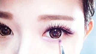 Japan Gyaru Pink Makeup - Trang điểm mắt to Nhật Bản