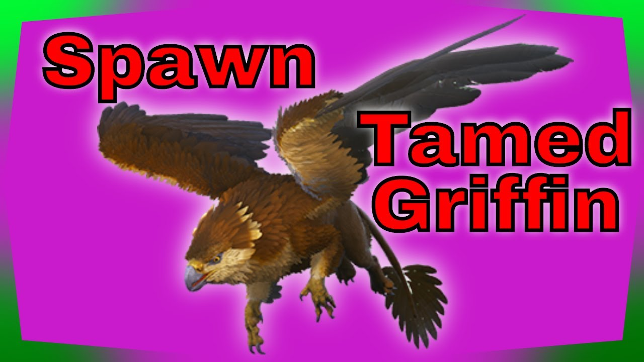 How to Spawn in a Tamed Griffin on ark xbox one and PS4