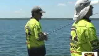 Bass Master Elite Pro fishing on Kentucky Lake.
