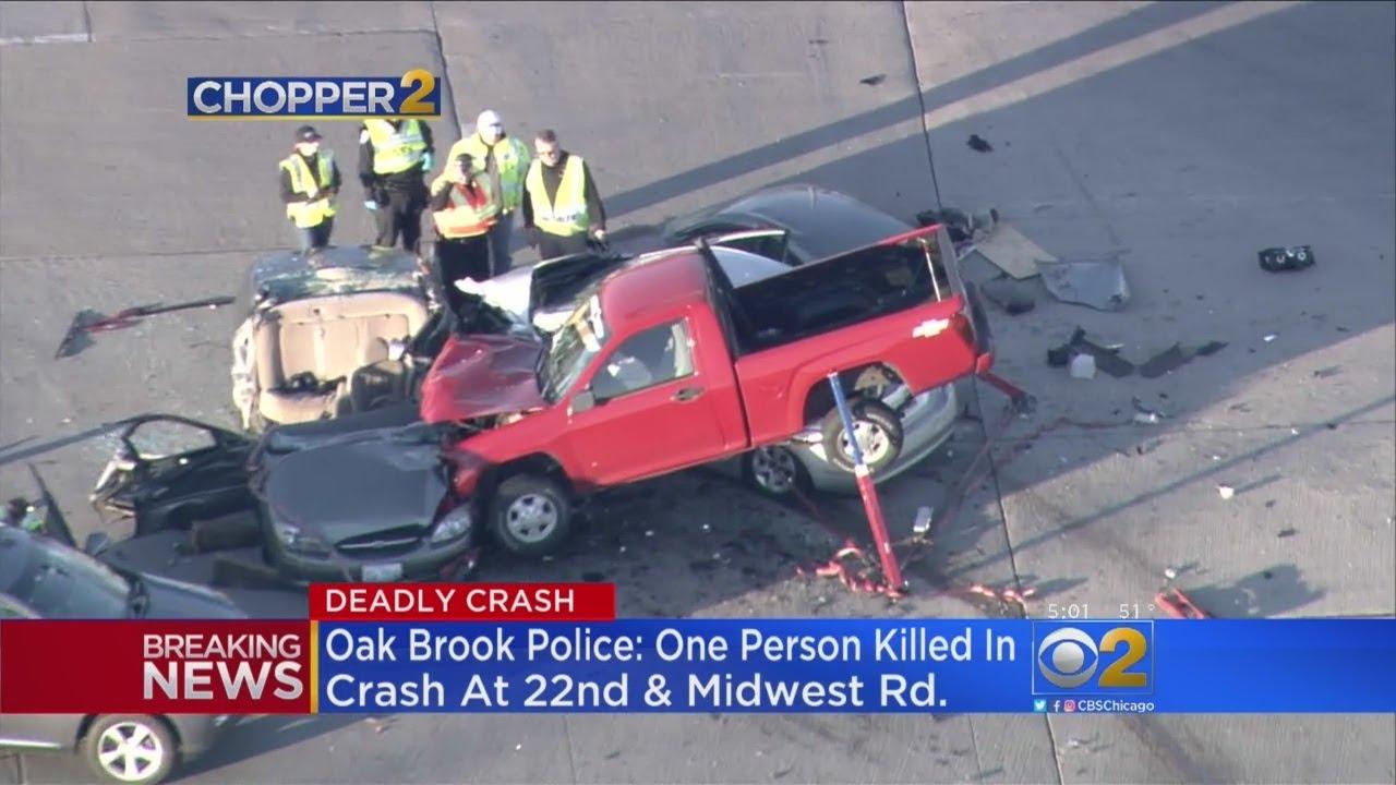 Man, 84, Killed In Crash Near Oakbrook Center
