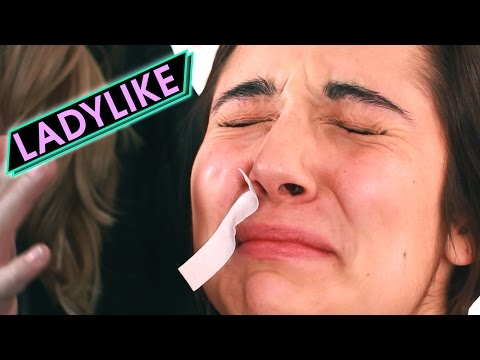 Thumbnail: Women Wax Each Other's Mustaches • Ladylike