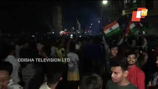 World Cup 2019- Celebrations in Indore after India's win over Pakistan