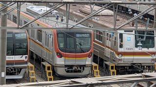 【試運転】警笛あり 東京メトロ17000系17101F 和光市発車