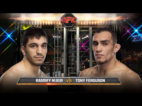 UFC Debut: Tony Ferguson vs Ramsey Nijem | Free Fight