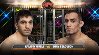 UFC Debut Tony Ferguson vs Ramsey Nijem  Free Fight