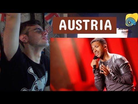 CESAR SAMPSON - NOBODY BUT YOU | AUSTRIA EUROVISION 2018 SEMI FINAL 1 LIVE REACTION