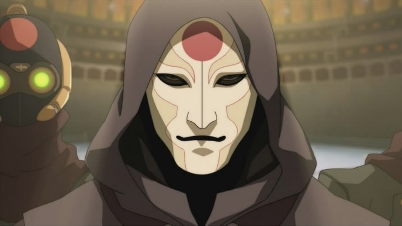 Amon , Hollow Mask: Korra