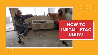How to install a PTAC unit a diy guide for hotel maintenance