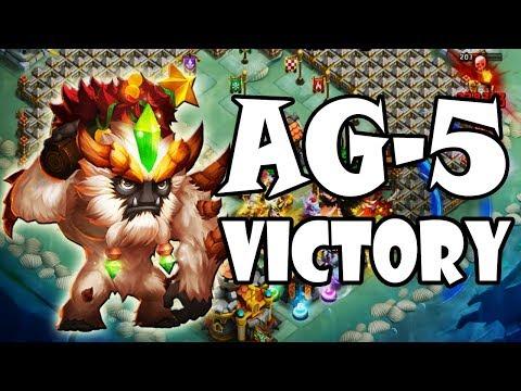 ONDATA AG-5 SUPERATA! - Castle Clash ITA